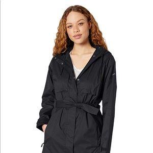 Columbia belted rain jacket
